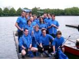 Das service94-Team will beim Drachenboot-Rennen in Hannover seinen Vorjahressieg verteidigen