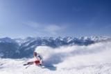 Skifahrer in Mittersill