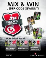 Beck's Mix&Win kommt bei Verbrauchern gut an! www.tlcmarketing.com/de