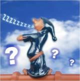 Den Schlafwandler oder andere Dachfiguren als Zugabe für jeden neuen Auftrag!