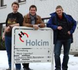 (v.l.n.r.): Daniel Thorge Schnell, Jelle Jan Greifenberg und Kevin Botzian