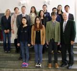 Chinesische Studierende auf Kurs Kiel