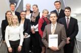 Sind Experten für Businesspläne – Studierende an der Berufsakademie.