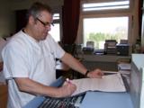 Konzentriert in der Pflege: Klaus-Dieter Hinrichsen