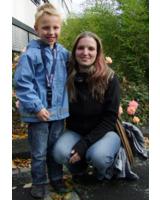 Schauen zuversichtlich in die Zukunft – Susanne Borchardt und Sohn Julian.