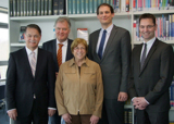Dr. Detlef Reeker, Dr. Christian Süverkrüp, Margit Fuhrmann, Derik Werth sowie Klaus-Hinrich Vater