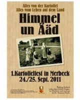 Das erste Merbecker Kartoffelfest am 24./25. September rund um St. Maternus Merbeck