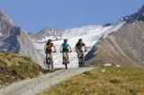 Mountainbiker im Ötztal