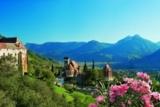 Schenna mit Blick auf Meran (© Tourismusverein Shenna und MGM – Der Weinmesser)