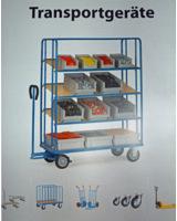 Transportgeräte vom Fahrgestell bis zum Hubwagen