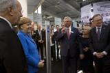 Bundeskanzlerin Merkel besuchte PCS auf ihrem CeBIT Rundgang 2016.