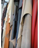 Leder vom Feinsten: Die Lederstärken reichen von 1 bis 3 mm