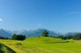 Panorama vor Oberstdorf
