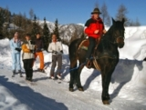 Mit einer ganzen Pferdestärke läuft der Biolift auf dem Katschberg.