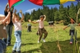 Kinder beim Spielen in Katschhausen