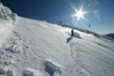 Pistenzauber durch strahlenden Sonnenschein auf dem Katschberg