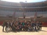 Spanischschüler auf Klassenfahrt in Valencia