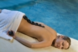 Hot-Stone-Massage im Hotel Quisisana