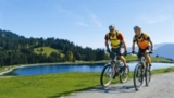 In den Kitzbüheler Alpen kommen Mountainbiker mit der neuen Sommer Card voll auf ihre Kosten.