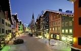 Abendstimmung in der Kitzbüheler Innenstadt
