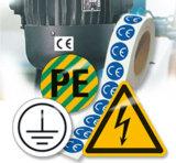 Kennzeichnung für Maschinen und Anlagen