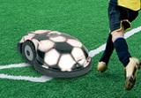 Limitierte Fußball-Edition des neuen Roboter-Rasenmähers Robomow RL2000