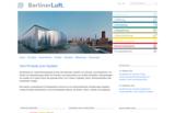 Startseite des Unternehmensauftritts der BerlinerLuft. Technik GmbH