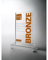 Der bronzene POSMA-Award für die wvp mbH aus Stuttgart