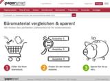 Die Website von der Papersmart GmbH