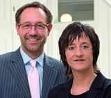 Claus Vogt und Anette Rottmar, die Geschäftsleitung der wvp GmbH