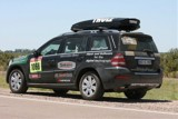 Das Presseauto der Rallye Dakar 2012
