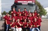 Die neuen Azubis von Wackler am Standort Göppingen/Holzheim