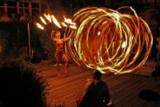 Feuershow anlässlich des 25-Jahr Jubiläums