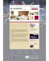 Hier sehen Sie die Startseite der neugestalteten Webpräsenz mit wechselnden Hintergrundbildern
