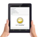 NSi Mobile stellt eine intuitive Bedienoberfläche für Smartphones und Tablet PCs bereit.