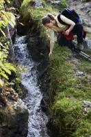 Die Waalwege im Vinschgau bieten ideale Bedingungen zum Wandern.