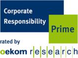 """Ricoh ist von Oekom Research im Oekom Corporate Rating mit dem """"Prime Status"""" ausgezeichnet worden."""