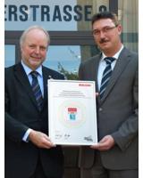Uwe Jungk, Ricoh Deutschland (links) und Peter Daunke, NOTHNAGEL-Gruppe
