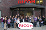 """Mehr als 30 Schülerinnen und Schüler haben am """"Zukunftstag für Mädchen und Jungen"""" Ricoh besucht"""