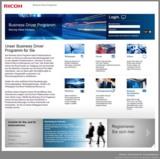 Seit dem 8. September ist das Portal des Business Driver Programm von Ricoh in Deutschland online.