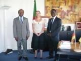 Kamerunischer Botschafter empfängt Förderverein der Deutschen Schule Jaunde e.V. in Berlin