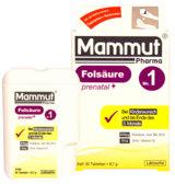 Mammut Pharma bietet für die Schwangerschaft die beste Versorgung wahlweise mit und ohne Jod