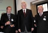 Zimmer-Geschäftsführer A. Zimmer, Ministerpräsident H. Seehofer, Zimmer-Aufsichtsrat Dr. M. Krause