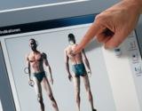 Einfache Bedienung: Per Fingerdruck wählt der Anwender aus dem anschaulichen Indikationsmenü