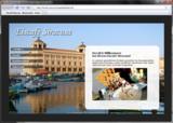 Screenshot einer Beispiel-Einsteigerwebsite