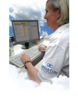 ALPHA COM zeigt zur CeBIT, dass auch Sachbearbeitung in der Wolke funktioniert. Foto: Corinna Scholz