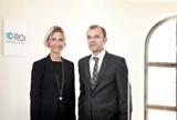 neue Partnerschaft geschlossen: S. Drexl-Wittbecker (ROI), M. Linder (FACTON)