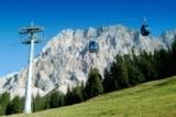 Ehrwalder Almbahn mit Wetterstein