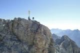 Zugspitzgipfel mit Gipfelkreuz