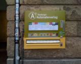 Im Grindelviertel hängt der erste Automat für Literatur